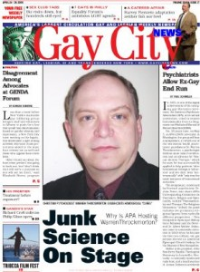 cover2 story 221x300 Gay City News: Junk Science On Stage