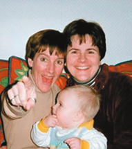Janet Jenkins, Lisa Miller, and daughter Isabella in better times