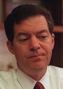 sam brownback 212x300 TWO Slams U.S. Senate Resolution Honoring James Dobson For Selection Into Radio Hall of Fame