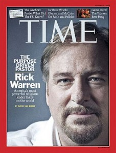 Rick Warren in Time magazine