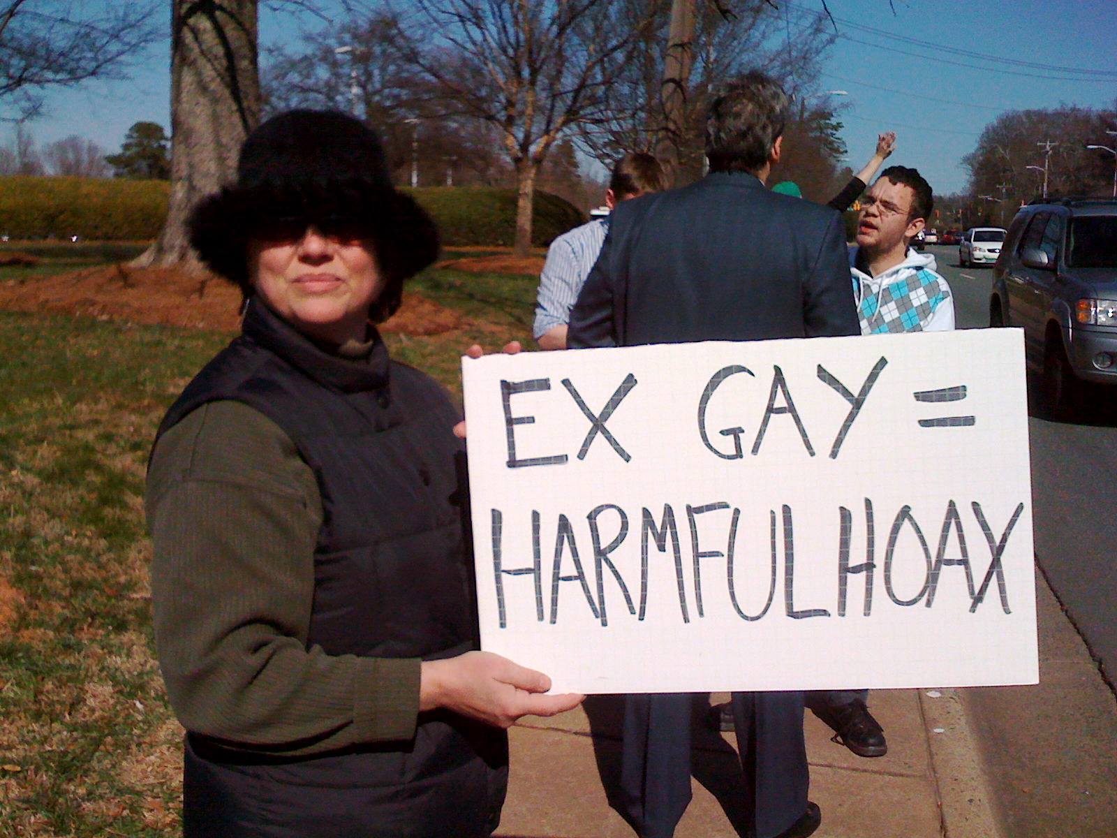 protest 1 Ex Gay & The Law Released by Truth Wins Out and Lambda Legal