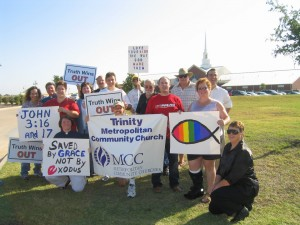 protest 300x225 Denver Post: Focus on the Family selling its money losing gay workshops