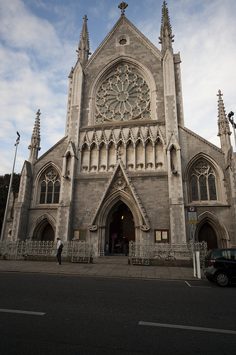 Dublin church Catholic Church Has Zero Moral Authority To Oppose Same Sex Marriage