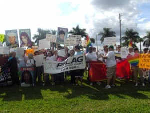 NARTH1 300x225 West Palm Beach Protest Against NARTH a Success