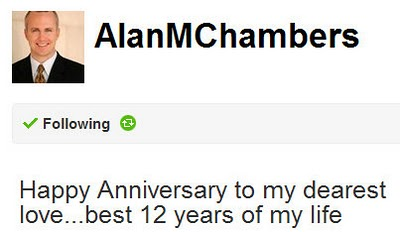 AlanChambersTweet Denial?