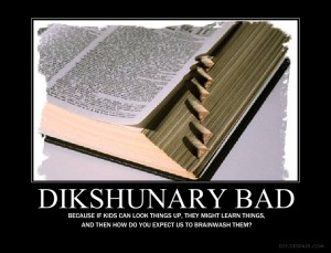 dikshunary 300x229 Wingnuts Work to Ban Dictionaries In School