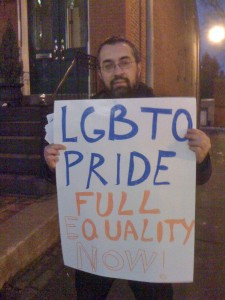 DC Protest2 225x300 Full Equality NOW! DC Protest at C Street House a Success