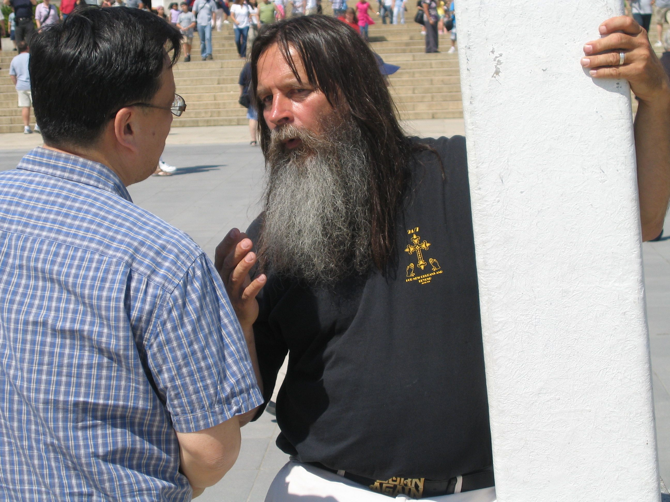 Bearded Cross Guy  Right Wing May Day Event A Bust
