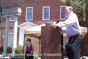 brian brown podium annapolis What About Him!