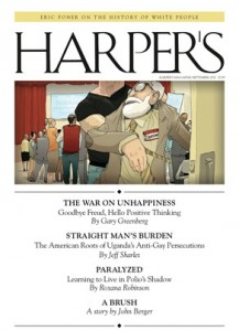 harpers 217x300 Jeff Sharlet Explores the American Straight Mans Burden in Uganda
