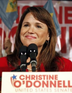 odonnell cp9394531 233x300 TWO Calls On Delaware GOP Senate Nominee Christine ODonnell To Apologize For Running Failed Ex Gay Program