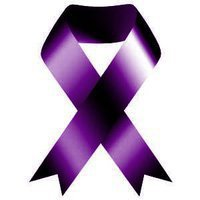purple ribbon Purple People