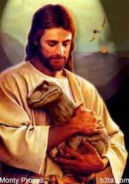 Jesus dinosaur Many of the People Who Vote Against LGBT Equality... [UPDATED]