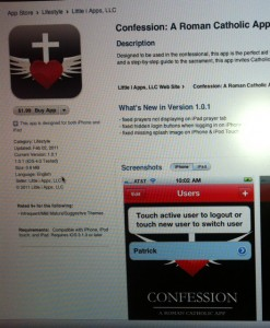 Catholic App1 247x300 Catholic iphone app Causes Sustained International Uproar