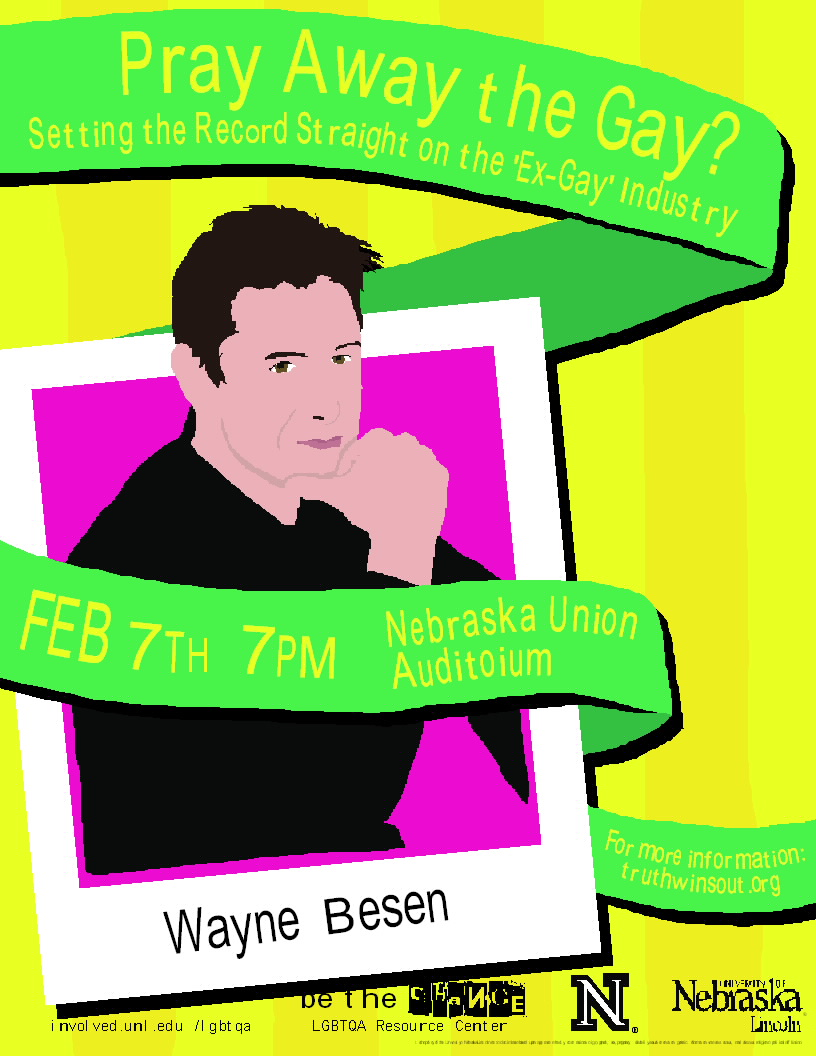 Nebflier Wayne Besen to Speak at University of Nebraska on Feb. 7 (7PM)