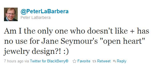 Peterjaneseymour Peter LaBarberas Most Significant Tweet Yet