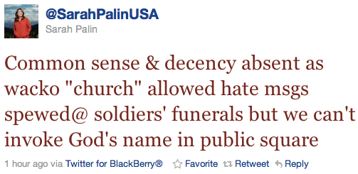 palintweet Sarah Palin Thinks You Cant Say God In Public Square