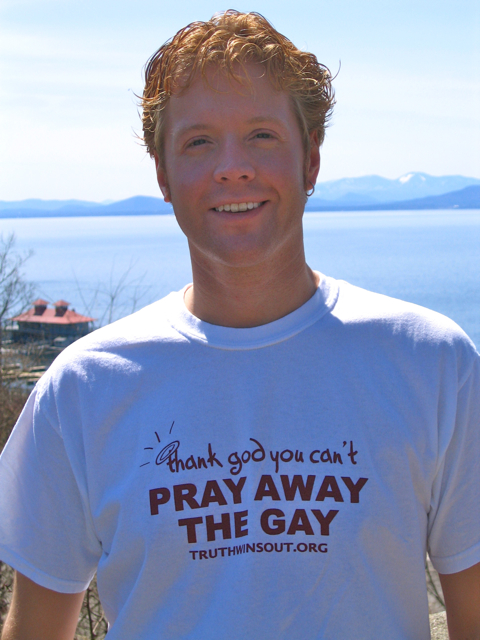 T Shirt Get Brand New Pray Away the Gay T Shirt Today With Donation
