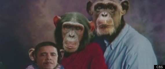 The Tea Party Racist? No Way, Because Monkeys Are Not A Race