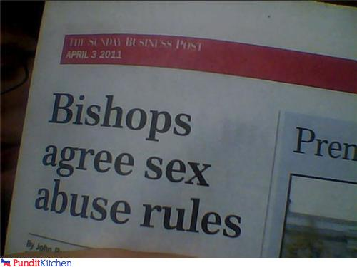 bishops File Under Fairly Accurate Headlines
