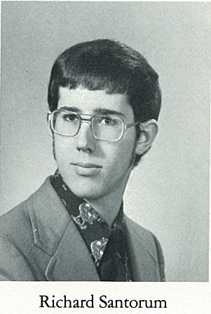 063728 santorum richard When He Was Just A Young Frothy Mix
