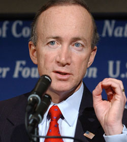 Mitch Daniels Mitch Daniels and the Family Values Trap