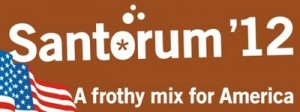 santorum 300x112 Old Frothy Mix Is Officially Running for President