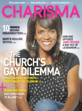 Boynes Ex Lesbian Fraud Janet Boynes On Cover of Charisma