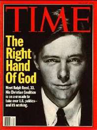 Moral Misfit Ralph Reed Attempts A Comeback; Will Evangelicals Be Duped?