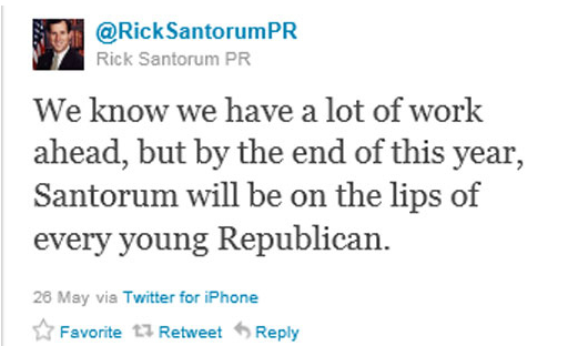 santorum Rick:  Your Google Problem Is Not Going Away! [UPDATED]