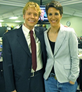 JohnRachel 268x300 Rachel Maddow Gives Kudos and Thanks to TWO