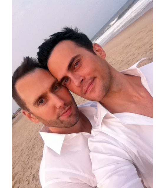11Wedding560x Wedding Bells for Cheyenne Jackson