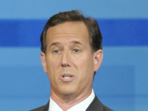 santorum x large 300x225 Everyone, Even Conservatives, Criticizing Santorums DADT Debate Answer
