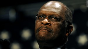 Herman Cain 2 300x168 Herman Cains Implausible Spin 