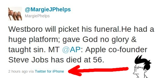 Margie Margie Phelps Accidentally Tweets Something Funny