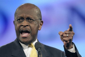 herman 300x200 Herman Cain Is All About Choices, Kind of Like Toppings on a Pizza Menu