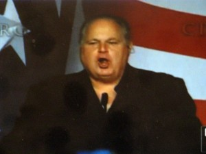 rush 300x225 Rush Limbaugh, Champion of Women and Crusader Against Racism, Defends Herman Cain Against Politico
