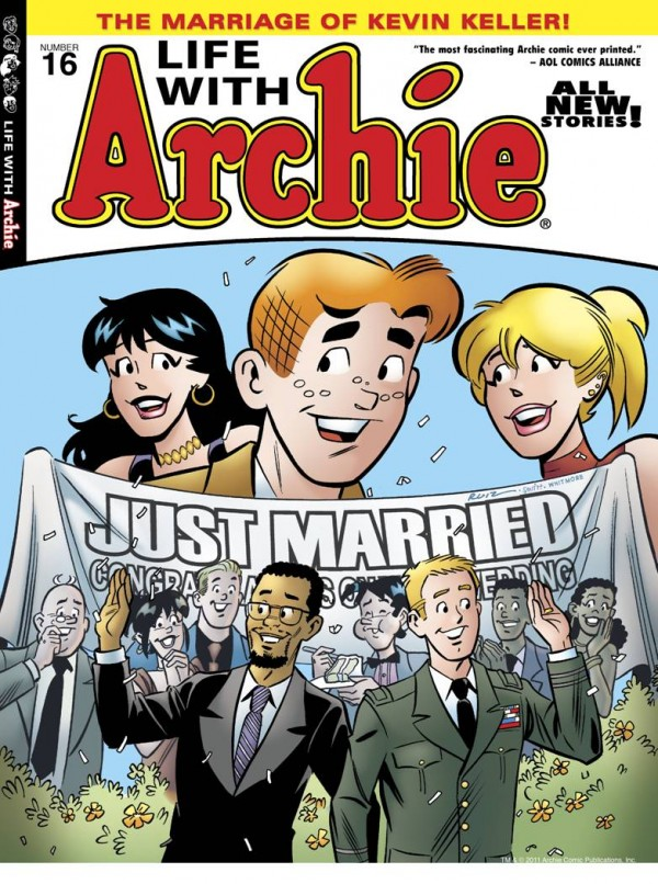 Archie Archie Comic: Gay Character Weds