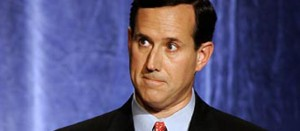 Rick Santorum 300x131 Rick Santorum Flirts With Christian Sharia