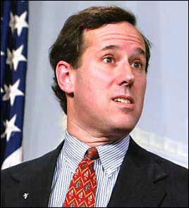 santorum1 Frothy Mix Says Gross, Untrue Thing About Girls Liking Him