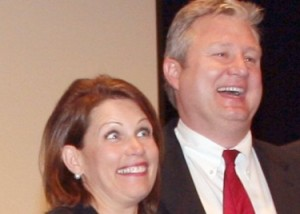 michele and marcus bachmann1 300x214 Michele Bachmann: Still Running, Still Not Getting It