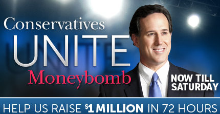 SantorumCUM Santorum Launches C.U.M.