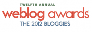 bloggies 300x106 Nominations Open for 2012 Weblog Awards [Bloggies]!