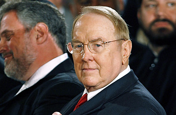 james dobson 0118 Extremists Hold Closed Door Meeting in Texas to Extort Promises and Blackmail Romney 