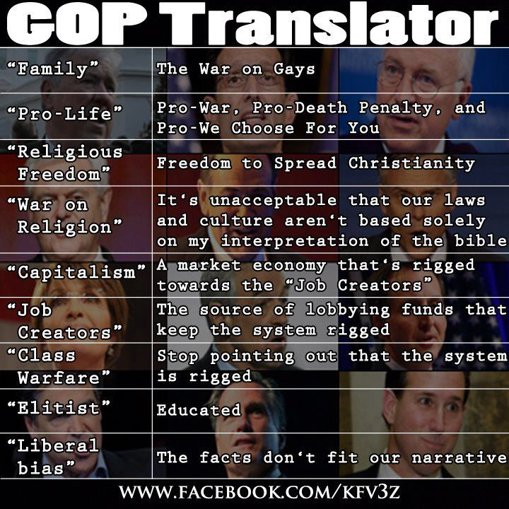 GOP translator Heres A Handy Wingnut Translator