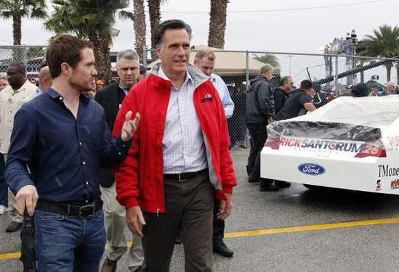 Nascarromney Romney Panders at NASCAR and Blunders Outreach to Joe Sixpack Crowd