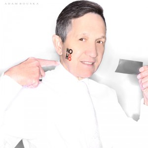 kucinich 300x300 Ten Members Of Congress Pose for NOH8 Campaign