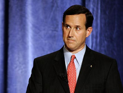 rick santorum 1 GOP Presidential Race Devolving Into a Joke    But a Scary One