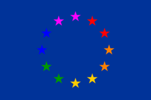 European gay flag European Court of Human Rights Rules LGBT People Do NOT Have a Right to Marry