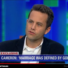 Kirk Sign GLAAD Petition Spanking TV Has Been Kirk Cameron for Anti Gay Remarks